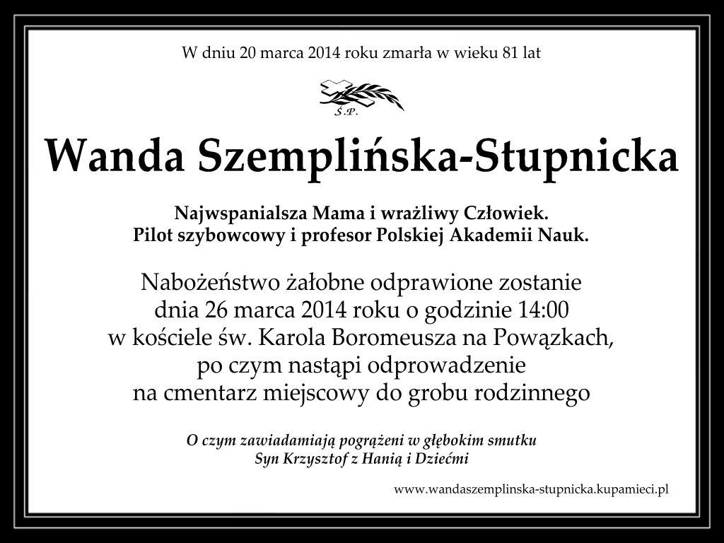 Szemplinska-Stupnicka