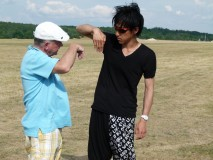 Jerzy Makula i Tomonari Kaji dzielą się doświadczeniami