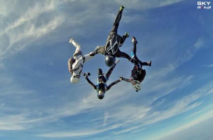 Fot.: Skydive.pl / www.rekord2015.pl
