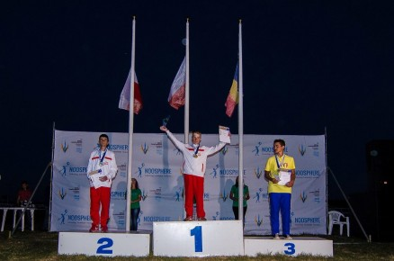 Na najwyższym stopniu podium Mistrz Świata Juniorów w konkurencji S7 - Wojciech Koszelski. Zdobywcą srebrnego medalu został Przemysła Żurawski